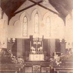 Second Chapel (showing 3 windows i.m.o. John Armstrong)