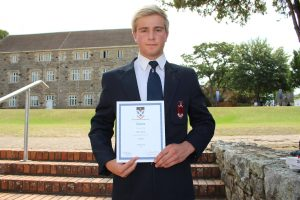 Peter Jarvis awarded Cricket Colours (Large)