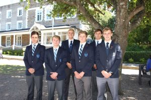Water Polo Colours - Ross Pringle, Andrew van Vuuren, Wesley Williams, Thomas Ryan, Jason Brown and Jack Emary (Large)