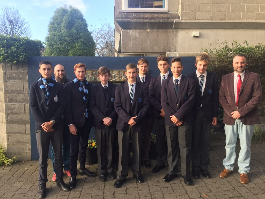 Debaters at St Andrew's in Dublin