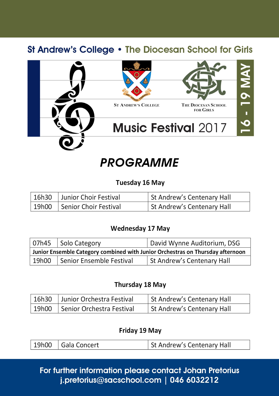 Music Festival Advert 2017 (Update)