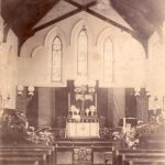 Second Chapel (showing 3 windows i.m.o. John Armstrong)
