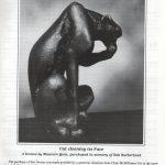 Maureen Quin bronze - Cat
