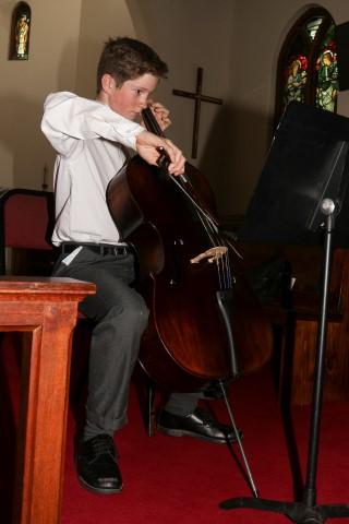 Ben Terry on Cello