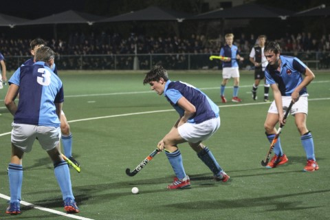 Dan Stijkel of St Andrew's College, during the inter schools hockey match between St Andrew's 1st XI and Selborne College at St Andrew's Webster Field in Grahamstown, Friday 25 May 2018.
