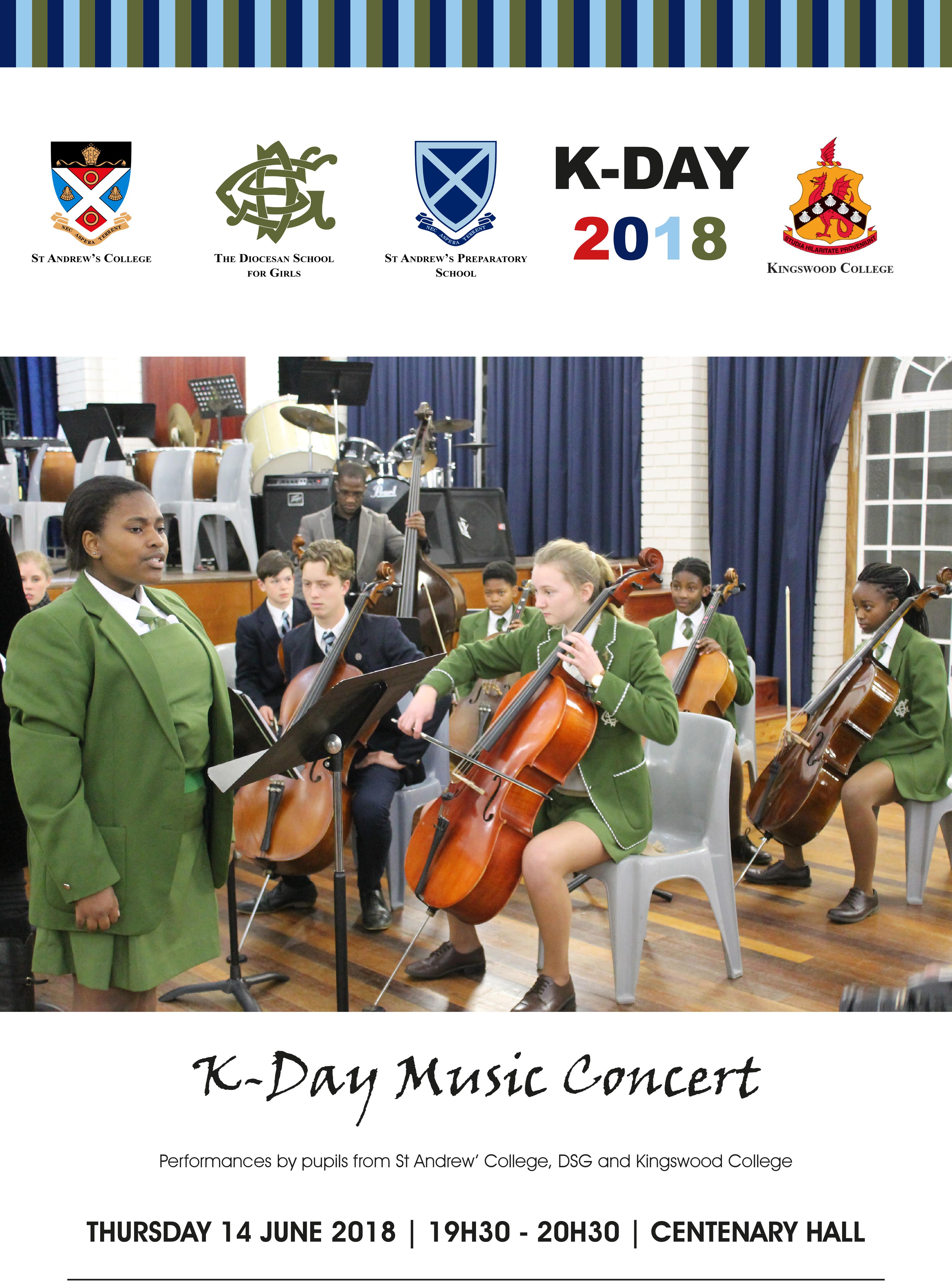 K-Day 2018 Music Concert Poster