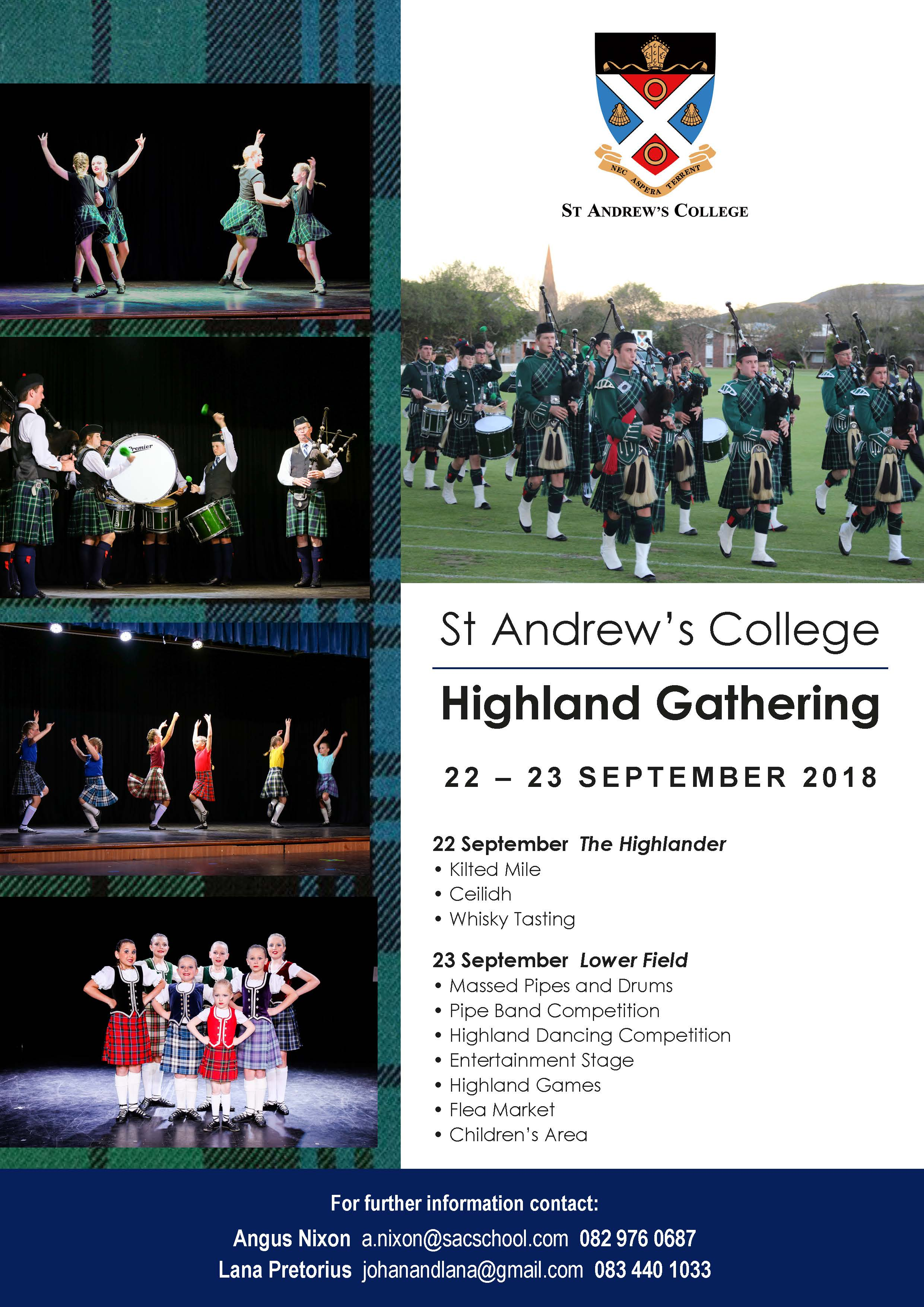 SAC Highland Gathering Save the Date Poster (NO PGP)