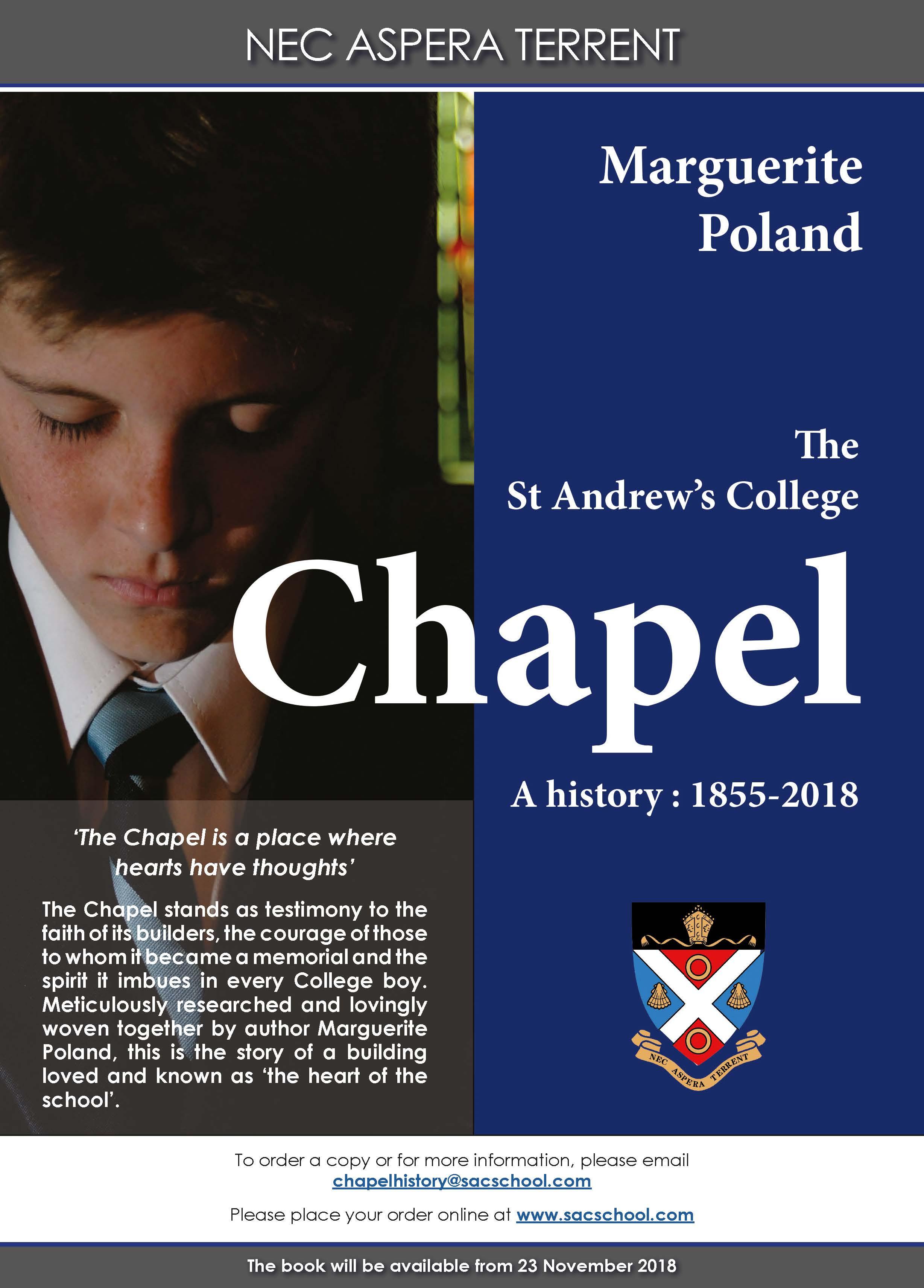 Chapel Book Poster-Ad