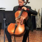 Student playing the cello - St Andrew's College